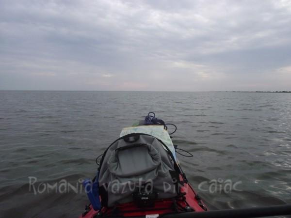 Caiac la Marea Neagra