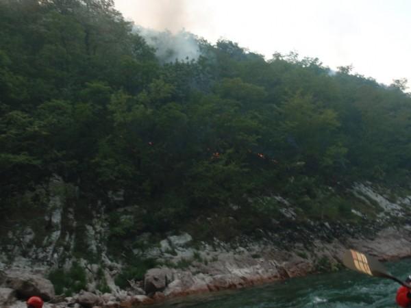 Incendiu in Parcul National Durmitor