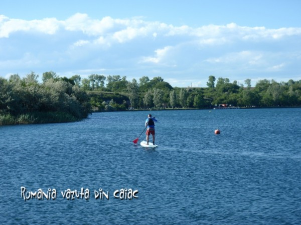 Stand up paddling Romania
