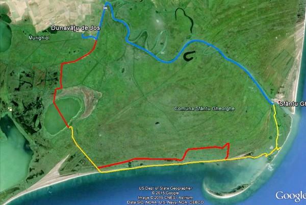 Aventura la padela in Delta Dunarii