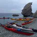 Kayaking in Samothraki
