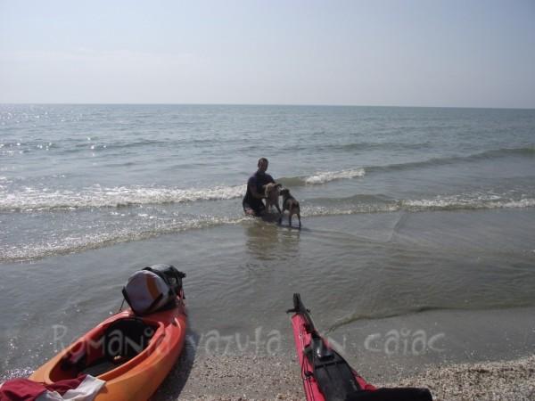 caiace la Marea Neagra