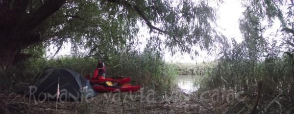 Excursie in caiac prin Delta Dunarii