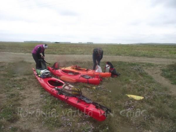 Final de expeditie in Delta