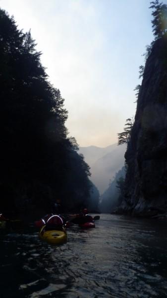 In canionul Tara, Muntenegru