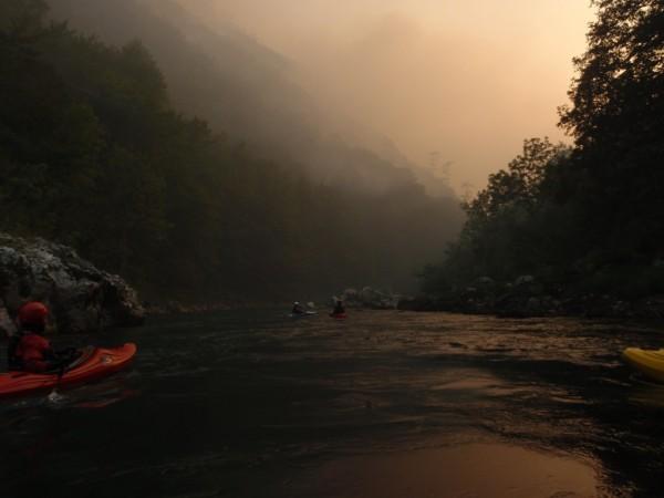 Incendiu in Muntenegru, canionul Tara