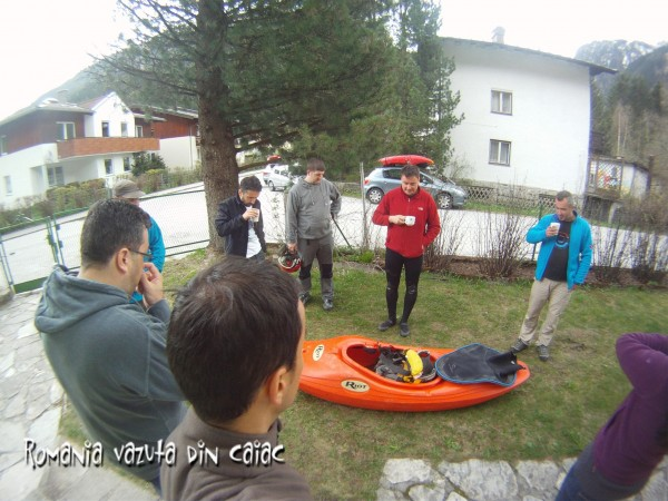 Curs caiac whitewater Hibiscus Sport