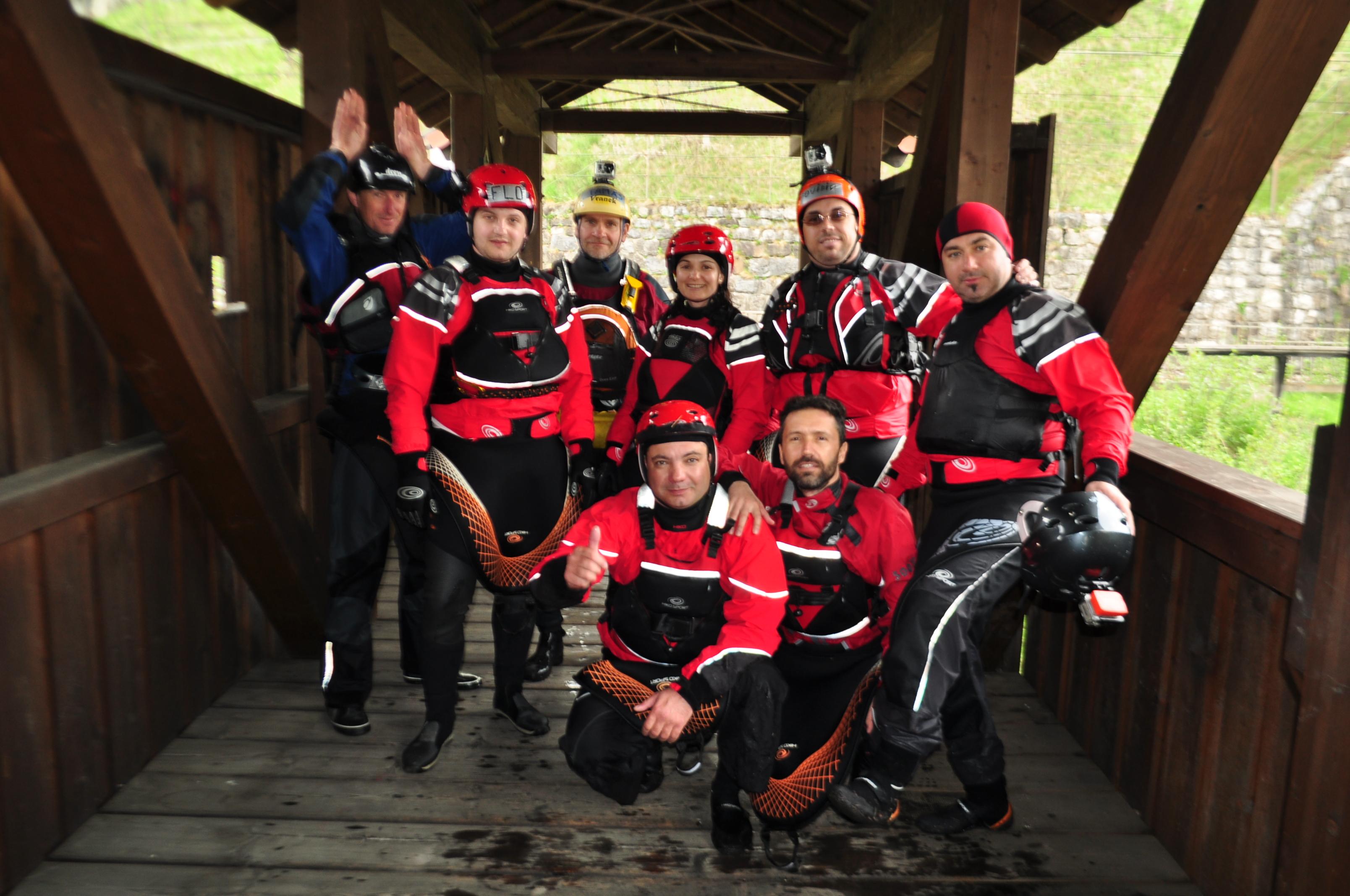 Curs de caiac whitewater : 4 râuri în 5 zile, Austria