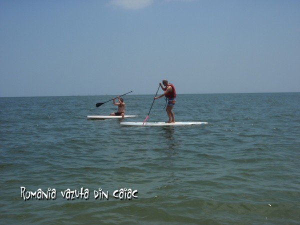 Stand up paddling in Vama Veche
