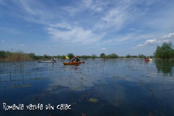 Caiac Edge 14.5 pe Lacul Misaila