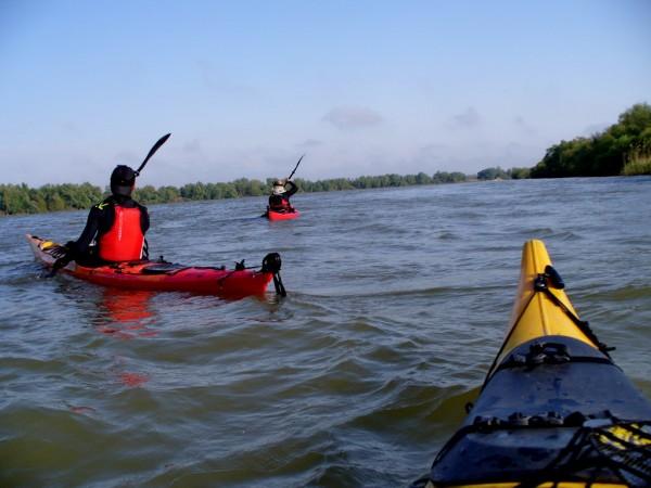 Tura de caiac in Delta Dunarii